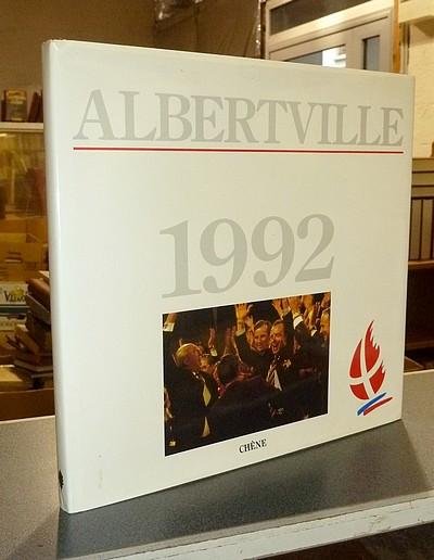 Livre ancien Savoie - Albertville 1992 -