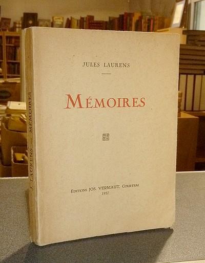 Livre ancien Savoie - Mémoires - Laurens, Jules