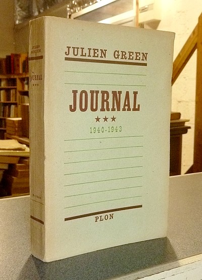 Journal *** 1940-1943 - Green, Julien