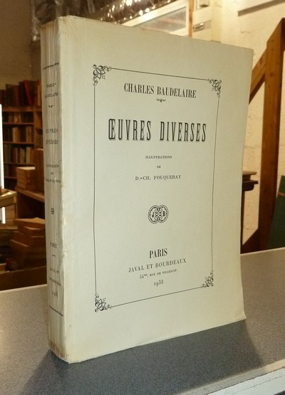 Oeuvres diverses - Baudelaire, Charles