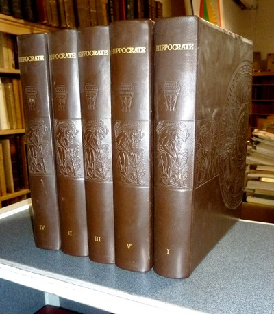 Oeuvres Complètes d'Hippocrate (5 volumes) - Hippocrate