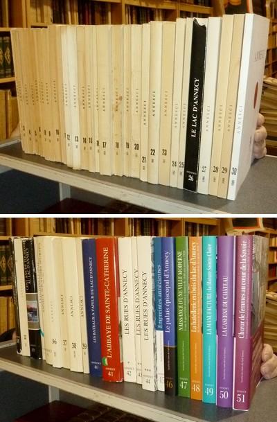 Livre ancien Savoie - Annesci (51 volumes) du n° 1 de 1953 au n° 51 de 2016 - Annesci