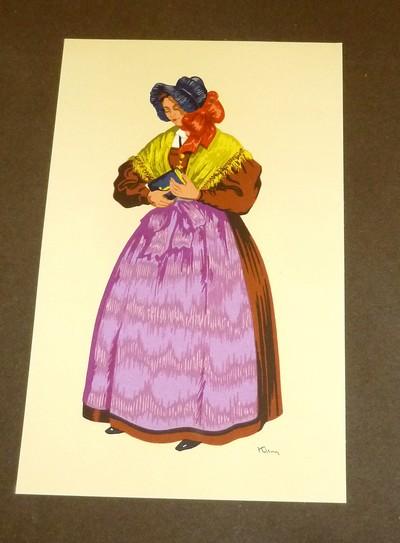 Livre ancien Savoie - Costumes du Sud-Est, XVIIIe et XIXe siècles, Bresses, Dauphiné, Comtat... - Klein, Paul Georges