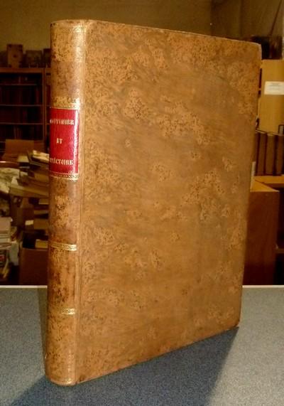 Livre ancien Savoie - Coutumier et Directoire pour les Soeurs religieuses de la Visitation... - Fremyot (Fremiot), Jeanne Françoise, Sainte Chantal