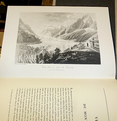 Livre ancien Savoie - Voyage pittoresque aux glaciers de Chamouni - Lory, Mathias Gabriel