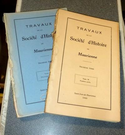 Livre ancien Savoie - Société d'Histoire et d'Archéologie de Maurienne - Tome IX, Deuxième... - Collectif