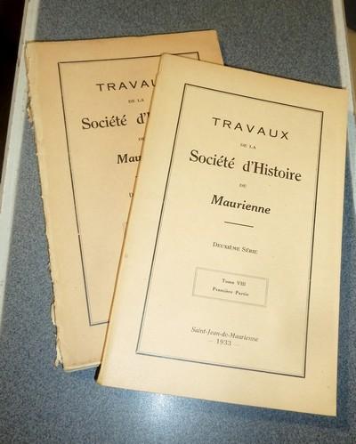 Livre ancien Savoie - Société d'Histoire et d'Archéologie de Maurienne - Tome VIII, Deuxième... - Collectif