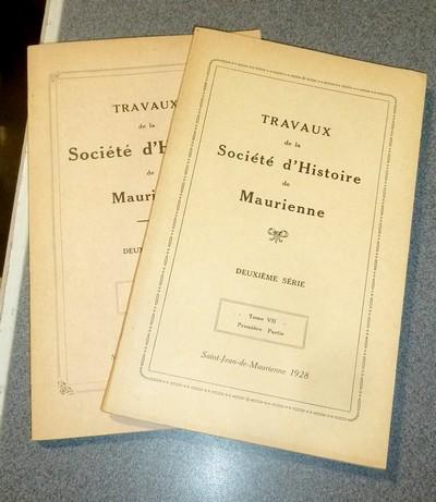 Livre ancien Savoie - Société d'Histoire et d'Archéologie de Maurienne - Tome VII, Deuxième... - Collectif