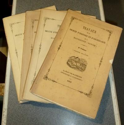 Livre ancien Savoie - Société d'Histoire et d'Archéologie de Maurienne - Première Série, 5e... -