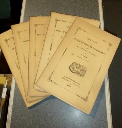 Livre ancien Savoie - Société d'Histoire et d'Archéologie de Maurienne - Première Série, 4e... -