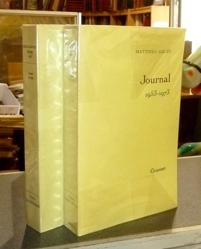 Journal (2 volumes) 1953-1973 & 1974-1986 - Galey, Matthieu