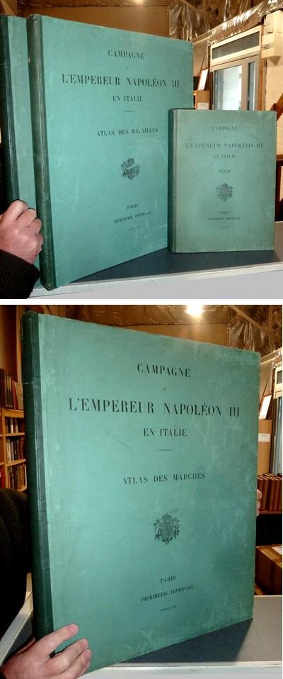 Livre ancien Savoie - Campagne de l'Empereur Napoléon III en Italie, 1859. Rédigée au dépôt de... -