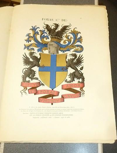 Livre ancien Savoie - Armorial et Nobiliaire de l'Ancien Duché de Savoie (Tome II - 27° livraison) - Foras, Le Cte E. Amédée de