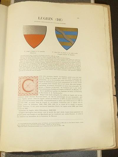 Livre ancien Savoie - Armorial et Nobiliaire de l'Ancien Duché de Savoie (Tome III - 19° livraison) - Foras, Le Cte E. Amédée de