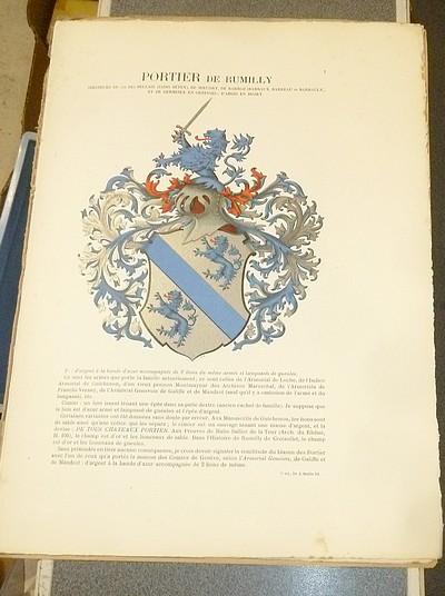 Livre ancien Savoie - Armorial et Nobiliaire de l'Ancien Duché de Savoie (Tome V - livraison 1) - Foras, Le Cte E. Amédée de & Mareschal de Luciane, Cte F.-C. de & Viry, Cte Pierre de