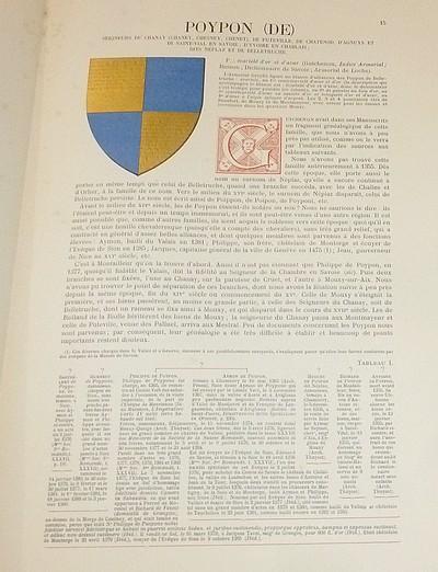 Livre ancien Savoie - Armorial et Nobiliaire de l'Ancien Duché de Savoie (Tome V - livraison 2) - Foras, Le Cte E. Amédée de & Mareschal de Luciane, Cte F.-C. de & Viry, Cte Pierre de