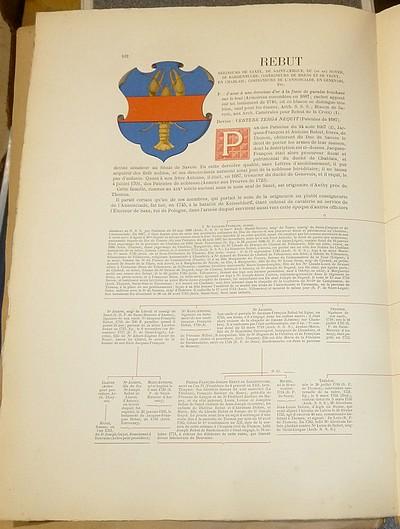 Livre ancien Savoie - Armorial et Nobiliaire de l'Ancien Duché de Savoie (Tome V - livraison 7) - Foras, Le Cte E. Amédée de & Mareschal de Luciane, Cte F.-C. de & Viry, Cte Pierre de
