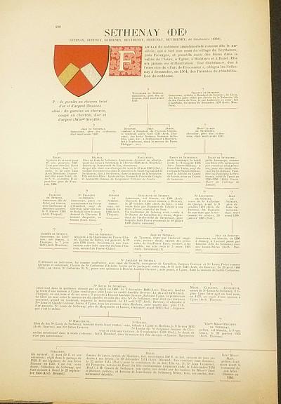 Livre ancien Savoie - Armorial et Nobiliaire de l'Ancien Duché de Savoie (Tome V - livraison 29) - Foras, Le Cte E. Amédée de & Mareschal de Luciane, Cte F.-C. de & Viry, Cte Pierre de