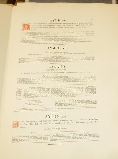 Livre ancien Savoie - Armorial et Nobiliaire de l'Ancien Duché de Savoie (Tome VI - livraison 6) - Foras, Le Cte E. Amédée de & Mareschal de Luciane, Cte F.-C. de & Viry, Cte Pierre de & d'Yvoire, Baron