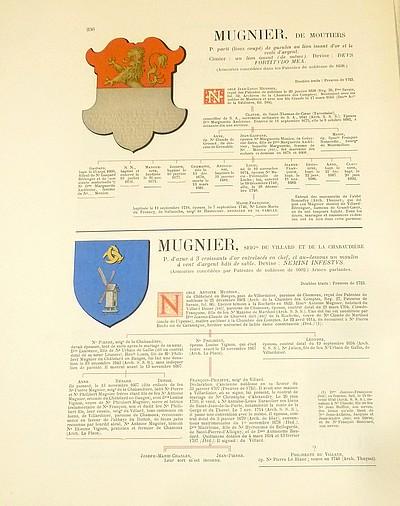 Livre ancien Savoie - Armorial et Nobiliaire de l'Ancien Duché de Savoie (Tome IV - Livraison 16) - Foras, Le Cte E. Amédée de & Mareschal de Luciane, Cte F.-C. de