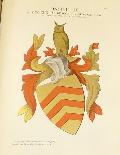 Livre ancien Savoie - Armorial et Nobiliaire de l'Ancien Duché de Savoie (Tome IV - Livraison 19) - Foras, Le Cte E. Amédée de & Mareschal de Luciane, Cte F.-C. de