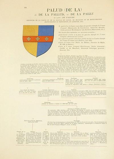 Livre ancien Savoie - Armorial et Nobiliaire de l'Ancien Duché de Savoie (Tome IV - Livraison 22) - Foras, Le Cte E. Amédée de & Mareschal de Luciane, Cte F.-C. de