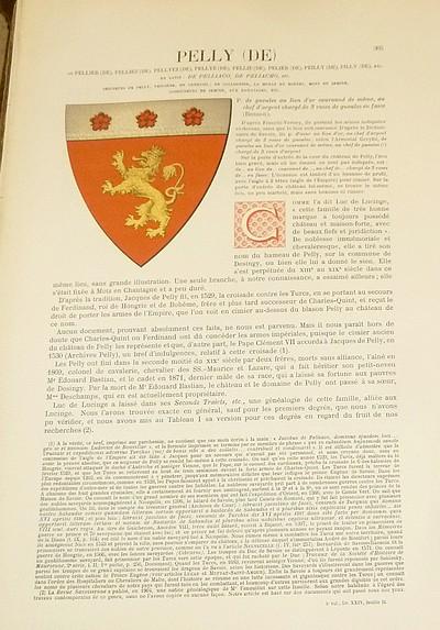 Livre ancien Savoie - Armorial et Nobiliaire de l'Ancien Duché de Savoie (Tome IV - Livraison 24) - Foras, Le Cte E. Amédée de & Mareschal de Luciane, Cte F.-C. de