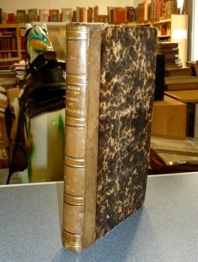 Livre ancien Savoie - Manuel de l'étranger aux eaux d'Aix en Savoie (relié avec trois lettres... - Despine, Docteur Constant