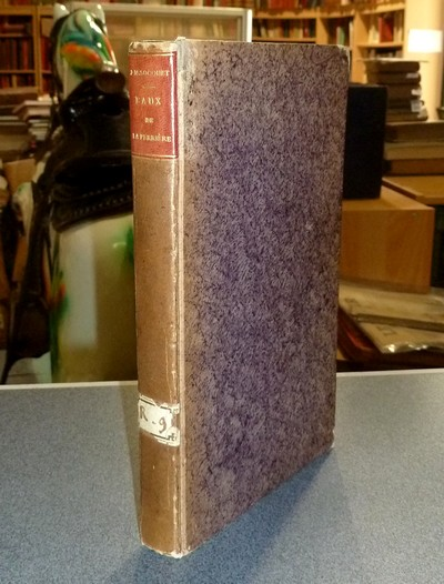 Livre ancien Savoie - Essai analitique, médical et topographique, sur les eaux minérales,... - Socquet, Joseph-Marie