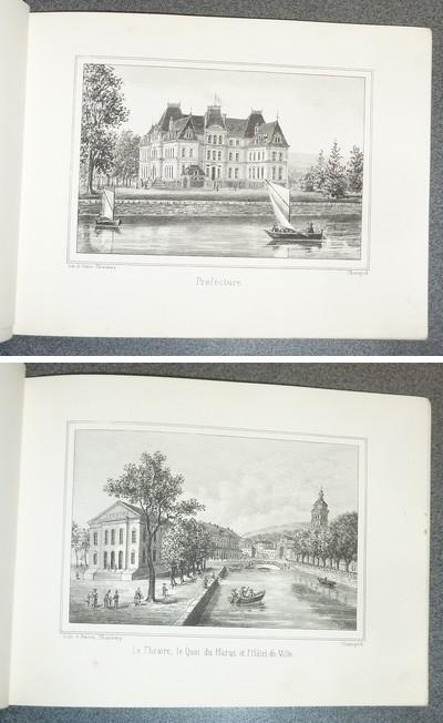 Livre ancien Savoie - Souvenir d'Annecy et de ses environs (12 litographies) - Champod