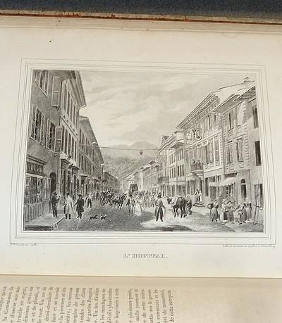 Livre ancien Savoie - Sites de la Savoie dessinés d'après nature & lithographiés par Ph. Courtois... - Courtois, Philippe