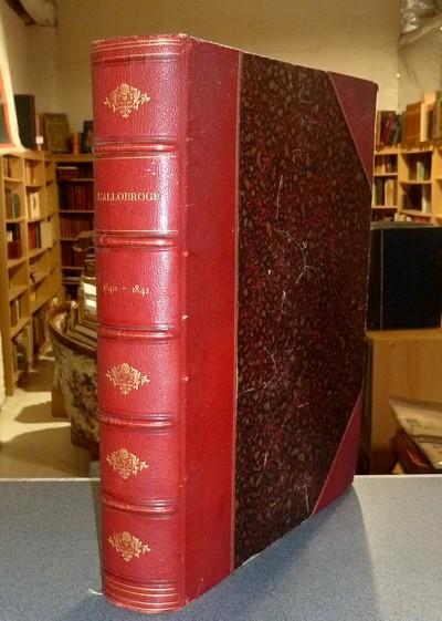 Livre ancien Savoie - L'Allobroge. Revue scientifique et littéraire des Alpes françaises et de la... - Bonnefous (Homme de lettre), Eugène
