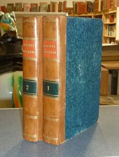 Livre ancien Savoie - Recherches sur les origines Celtiques, principalement du Bugey considéré... - Bacon-Tacon, Pierre J. J.