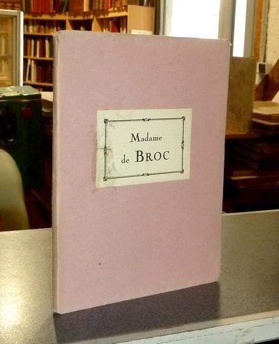 Livre ancien Savoie - Madame de Broc. Une victime de la cascade de Grésy - Usannaz-Joris, Marcel