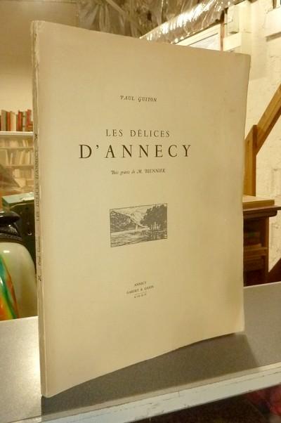 Livre ancien Savoie - Les Délices d'Annecy - Guiton, Paul