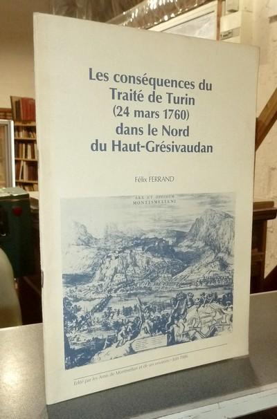 Livre ancien Savoie - Les conséquences du Traité de Turin (24 mars 1760) dans le Nord du... - Ferrand, Félix