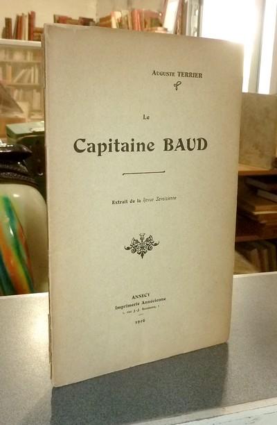 Livre ancien Savoie - Le Capitaine Baud - Terrier, Auguste