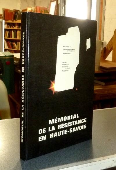 Livre ancien Savoie - Mémorial de la Résistance en Haute-Savoie -