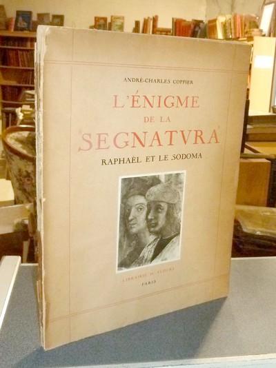Livre ancien Savoie - L'énigme de Segnatura. Étude historique et technique de la collaboration de... - Coppier, André-Charles