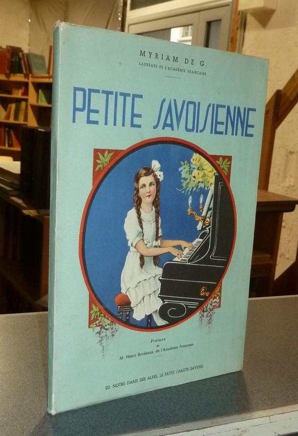 Livre ancien Savoie - Petite Savoisienne - Myriam de G.