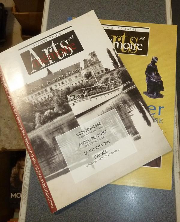 Livre ancien Savoie - Arts et mémoire d'Aix-les-Bains N° 8 - Ciné Jeunesse -Alfred Boucher - La... - Société d'Art et d'Histoire d'Aix les Bains