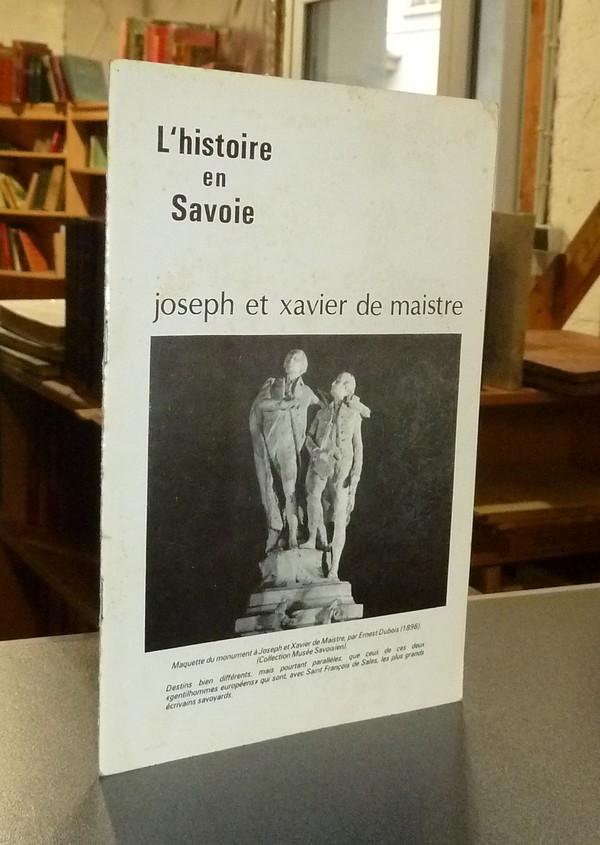 Livre ancien Savoie - Joseph et Xavier de Maistre - Dumas, Pierre