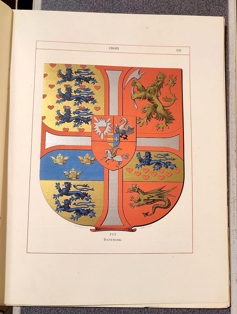 Livre ancien Savoie - Le Blason. Dictionnaire et remarques (4 volumes) - Foras, Cte Amédée de