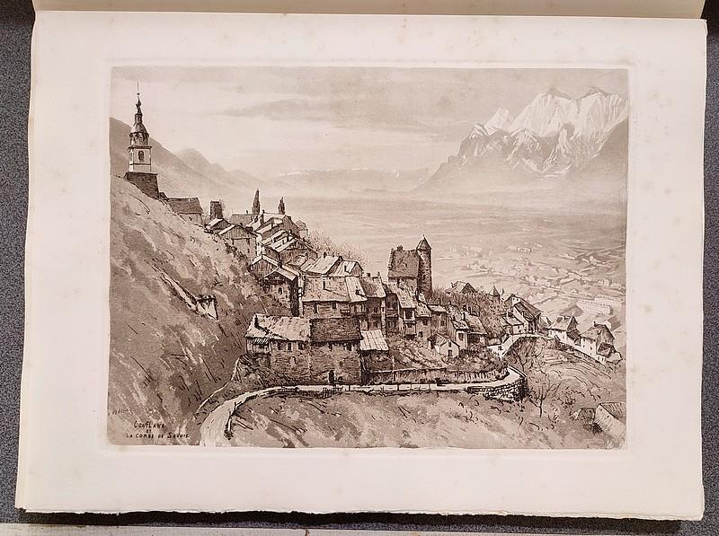 Livre ancien Savoie - Au seuil des Alpes de Savoie. Combe de Savoie, Albertville, Conflans, Val... - Ménabréa, Henri & Drevet, Joanny