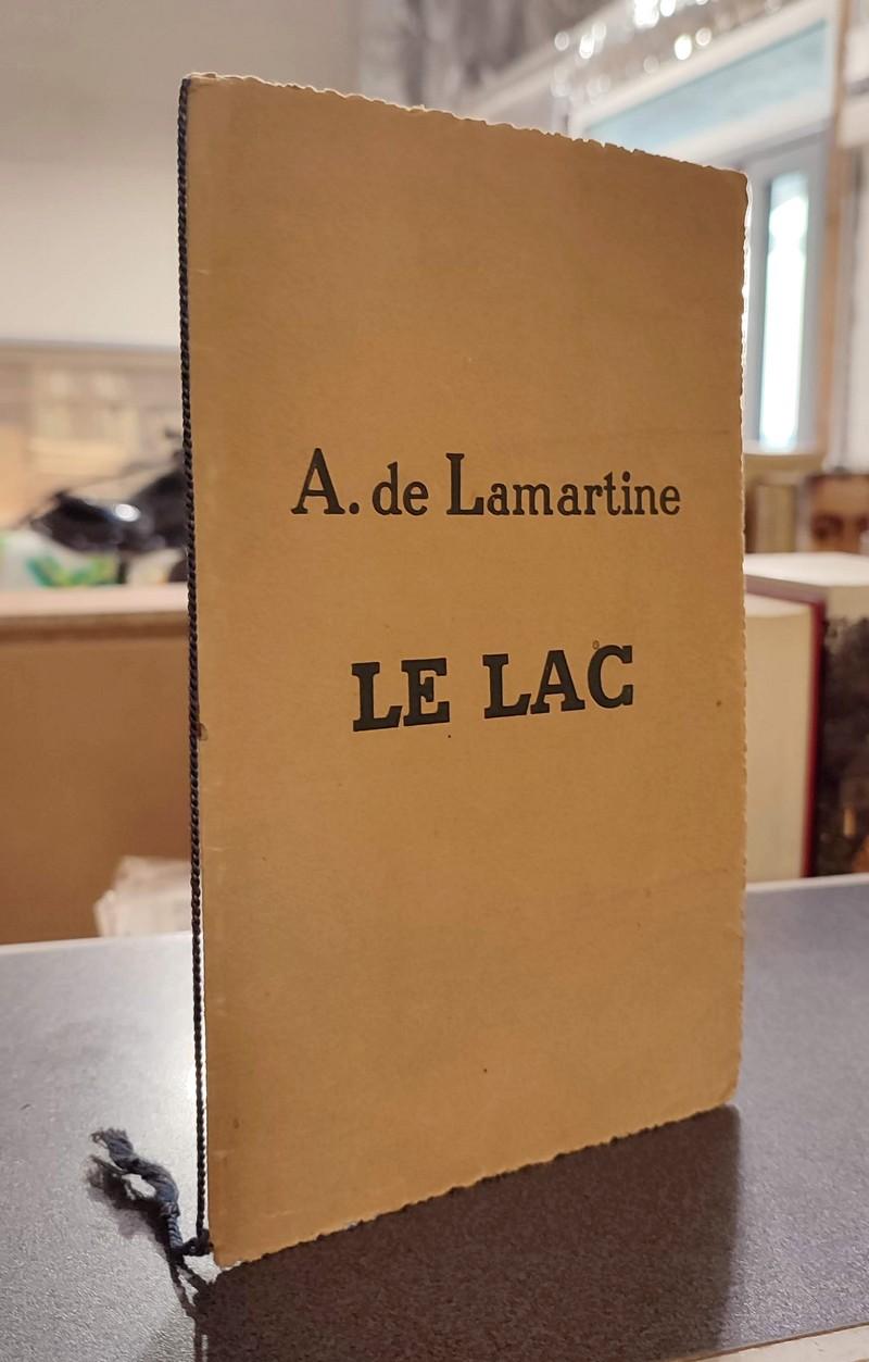 Livre ancien Savoie - Lamartine et le Lac du Bourget - Lamartine