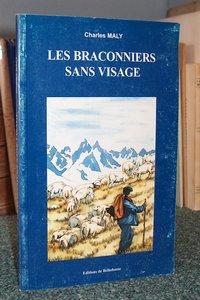 Livre ancien Savoie - Les braconniers sans visage - Maly Charles