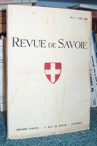 Livre ancien Savoie - 15 - Revue de Savoie n° 5,... - Revue de Savoie