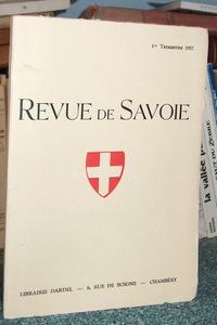 Livre ancien Savoie - 33 - Revue de Savoie n° 1,... - Revue de Savoie
