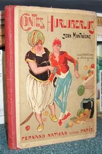 Livre ancien - Contes Hurluberlus - Montaigne Jean
