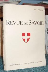 Livre ancien Savoie - 10 - Revue de Savoie n° 5 - Noël 1942 - Revue de Savoie